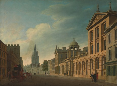 Thomas Malton, Sky, Clouds, City, Oxford, England