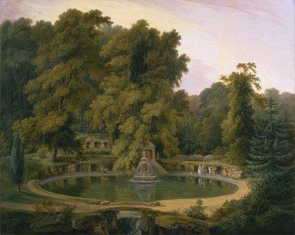 Thomas Daniell, Art, Painting, Oil On Canvas, Landscape