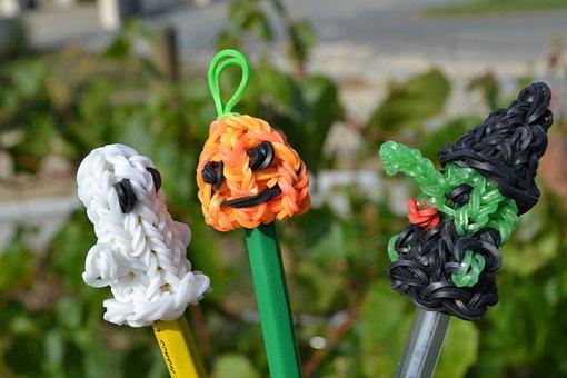 Ghost, Pumpkin, Jack-o-lantern, Witch, Phantom Elastic