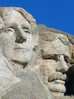 Mount Rushmore, National Monument, Memorial, Rock