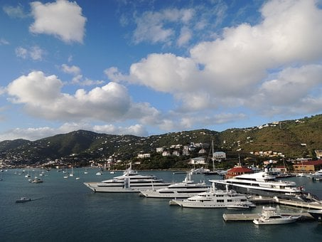 St Thomas, Virgin Islands, Usa, Boats, Hunting, Sailing
