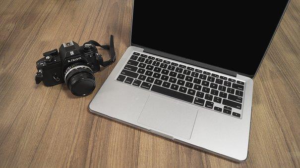 Nikon, Sony, Canon, Dslr, Slr Macbook, Pro, Table, Lens