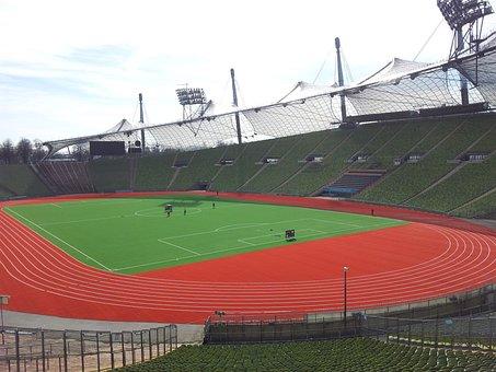 Munich, Olympic Stadium, Stadium, Architecture