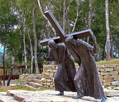 Stations Of The Cross, Pasierbiec, City, Cross, Jesus