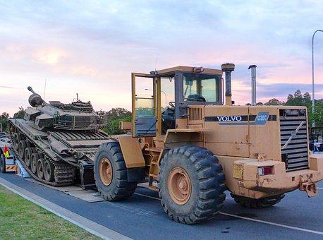 Machinery, Tank, Military, Weapon, Armored, Gun, Heavy