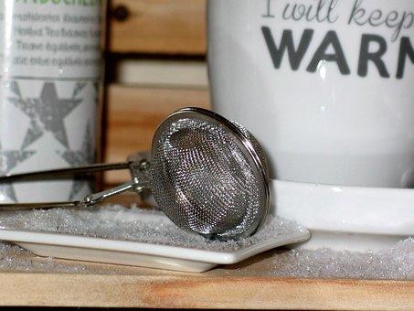 Tea Infuser, Tee, Drink, Teacup, Teatime, Tea Mix