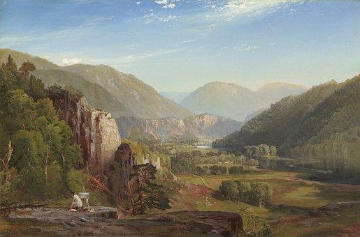 Thomas Moran, Landscape, Painting, Art, Artistic