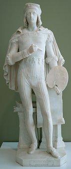 Sculpture, Raphael, Thomas, Crawford, Museum, Artwork