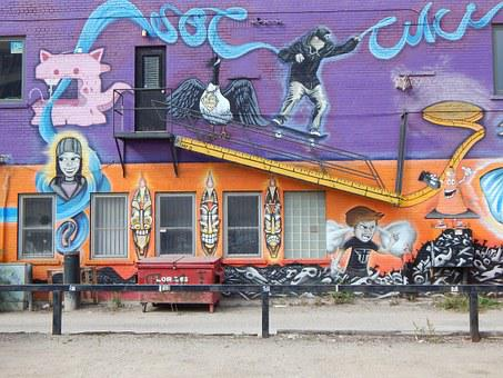 Street Art, Artwork, Art, Graffiti, Urban, Wall