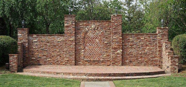 Background, Brick, Wall, Outdoor, Stage, Masonry