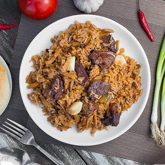 Food, Pilaf, Figure, Beef, Nutrition