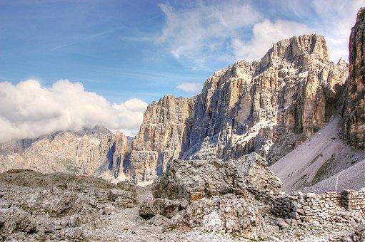 Lagazuoi, Dolomites, Italy, South Tyrol