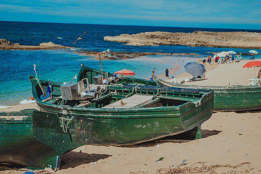 Boat, Sea, Life, Ocean, Water, Sky, Nature, Lake, Blue