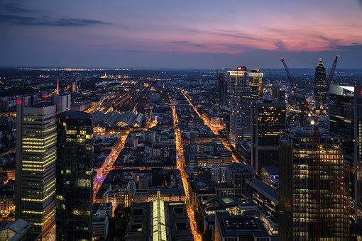 Skyline, Streets, City, Cityscape, Skyscraper