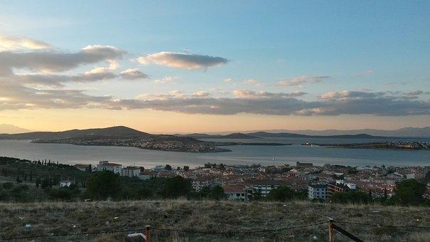 Ayvalýk, Turkey, See, Marine, Landscape