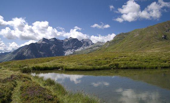 Lichtsee, Tyrol, Tribulaun, Burner, Austria, Alpine