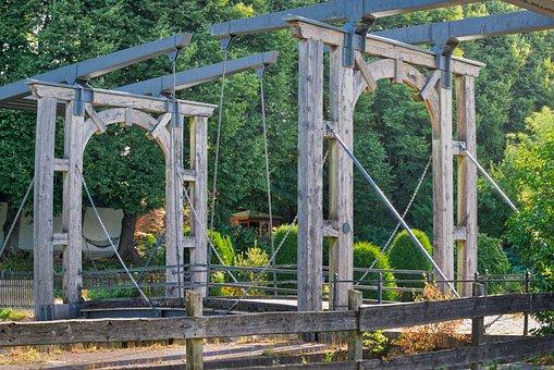 Bridge, Bascule Bridge, Dutch Bascule Bridge, Building