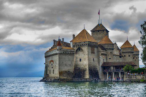Castle, Chillon, Switzerland