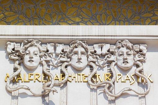Vienna, Secession, Building, Museum, Klimt, Austria