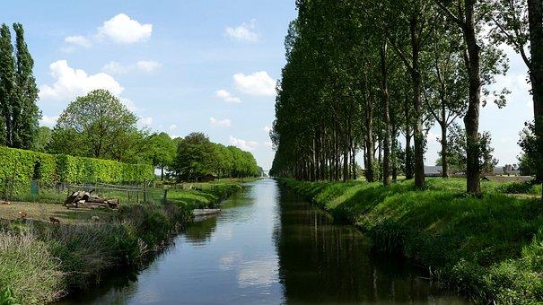 Nederweert, Channel, Water, Limburg, Tourism, Outdoor