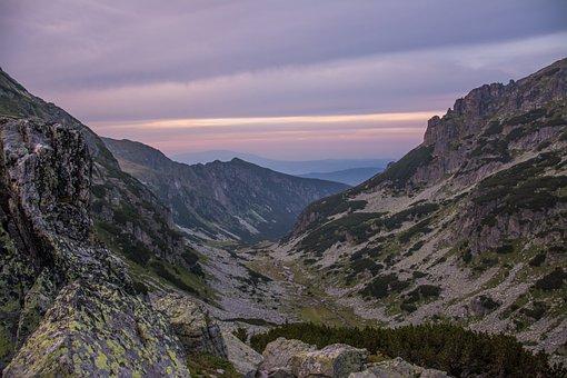 Mountain, Sunset, Landscape, Malyovitsa, Outdoors