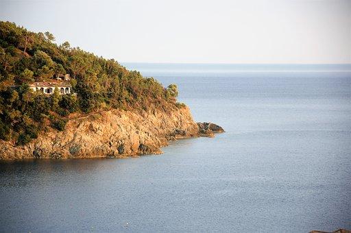 Bonassola, Liguria, Sea, Summer, Punta Del Carlino