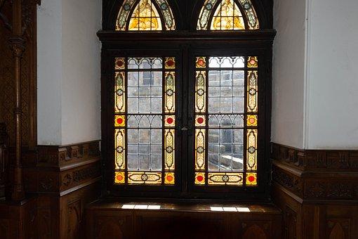 Castle, Window, History, Architecture