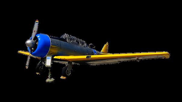 Aircraft, Engine, Propeller, Old, Vintage, Antique
