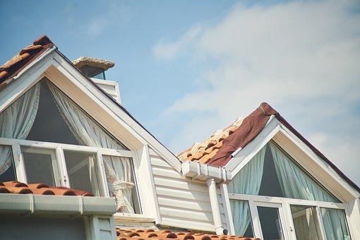 Home, Window, Curtain, Roof, Scott, Urban, Glass, Decor