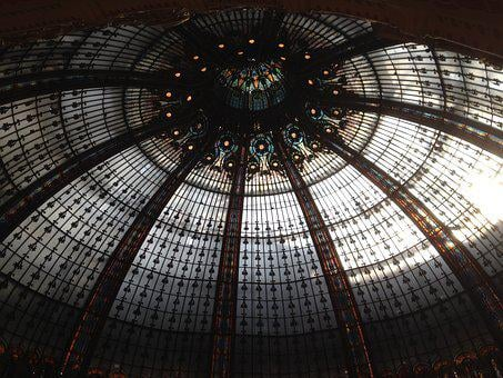 Dome, Paris, Lafayette, Department Store, Purchasing