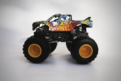 Toy, Monster Jam, Truck, Game, Rims, Rim, Play, Playing