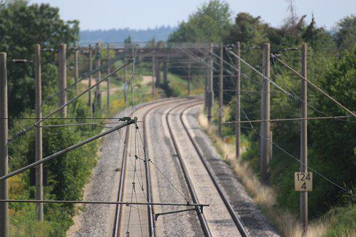 Seemed, Upper Lines, Railway, Gleise, Track, Track Bed