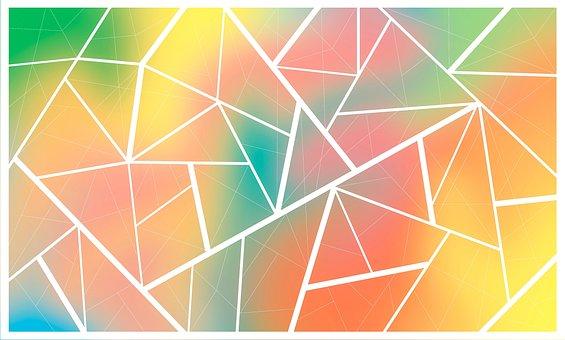 Background, Polygonal, Gradient, Polygon, Geometric