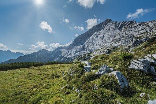 Mountains, Landscape, Heaven, Nature, Mountain, Clouds