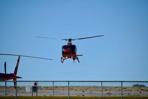 Blue Sky, Dry Land, Fence, Sky, Helicopter Bay