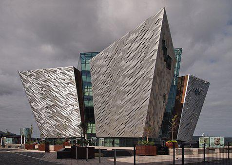 Titanic, Museum, Belfast, Ireland, Architecture