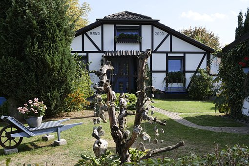 Nature, House, Garden Shed, Rural, Rest, Landscape