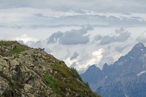 The Alps, Austria, Mountains, Landscape, Nature, Clouds