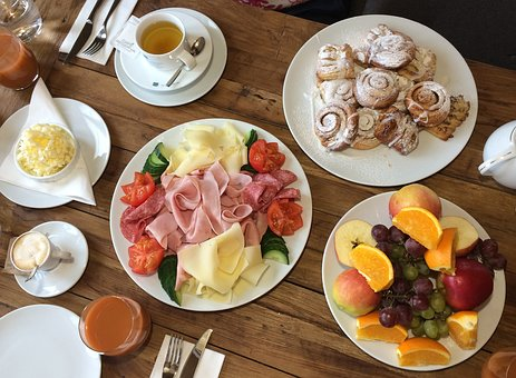 Breakfast, Luxury, Food, Fresh, Fruit, Hotel, Catering