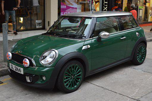 Mini, Car, Green, Vehicle, Cooper, Automobile