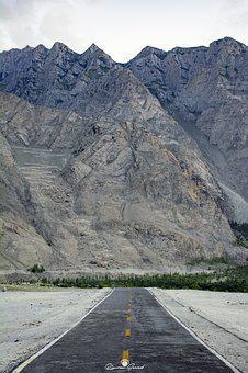 Shiger, Road, Skardu, Mountains, Range, Gb, North