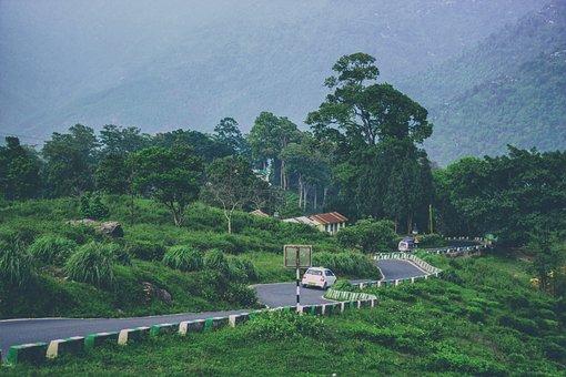 Landscape, Rock, Nature, Mountain, Hill Road, Hills