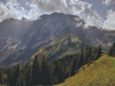 Mountains, View, Nature, Landscape, Alpine, Panorama