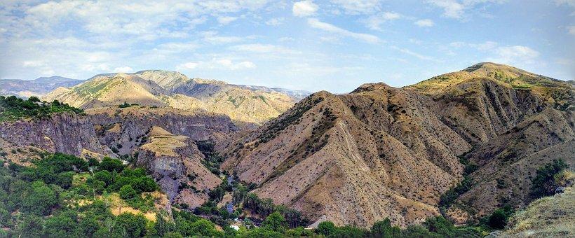 Armenia, Panorama, Mountains, Nature, Landscape