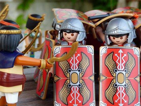 Toy, Romans, Rome, Roman, Shields, Toys, Battle, Shield