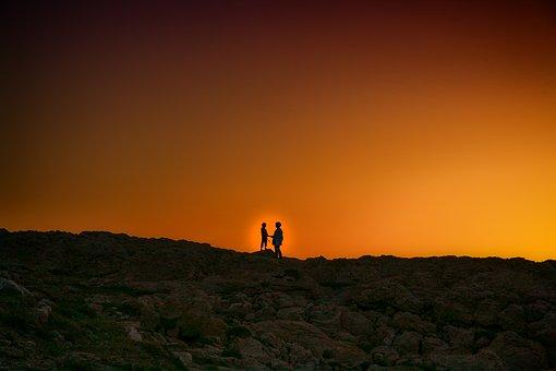 Abendstimmung, Sunset, Nature, View, Landscape, Sky