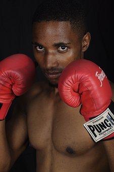 Boxing Gloves, Boxer, Box, Sport, Men, Training, Male
