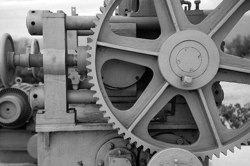 Steampunk, Machine, Machinery, Gear, Gears, Mechanical