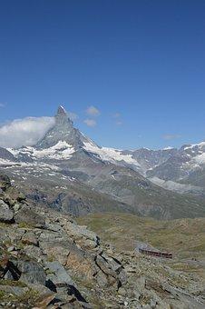 Matterhorn, Train, Gornegrat, Gornegrat Bahn