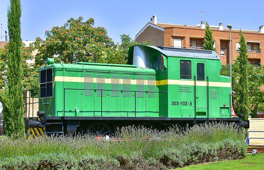 Train, Street, Monument, Railway, Locomotive